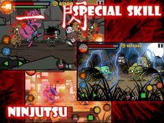 free iPhone app Blood Ninja:Last Hero for iPad