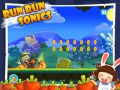 free iPhone app Run Run Sonics