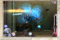 free iPhone app Captain America: Sentinel of Liberty