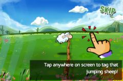free iPhone app Super Sheep Tap