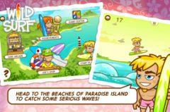 free iPhone app Wild Surf - Paradise Island