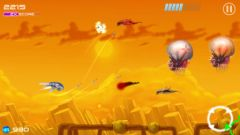 free iPhone app JAM: Jets Aliens Missiles