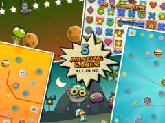 free iPhone app Igloo Games Arcade