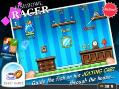free iPhone app Fishbowl Racer
