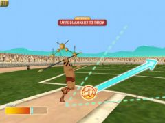 free iPhone app Olympic Games: Spartan Athletics HD