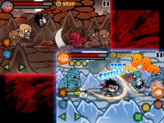 free iPhone app Blood Ninja:Devil Castle for iPad