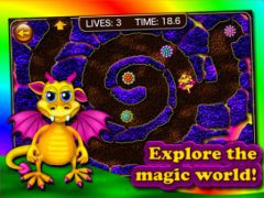free iPhone app Dragon Maze