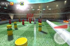 free iPhone app Mini Soccer Star