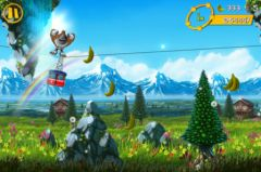 free iPhone app Gorilla Gondola