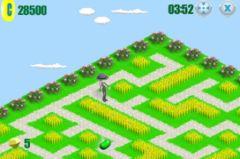 free iPhone app Maze Walkers