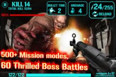 free iPhone app GUN ZOMBIE : HELLGATE