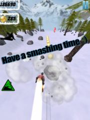 free iPhone app Avalanche Escape!