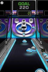 free iPhone app Arcade Bowling