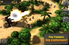 free iPhone app Tiny Troopers
