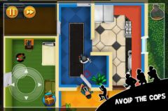 free iPhone app Robbery Bob