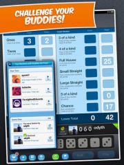 free iPhone app Dice With Buddies