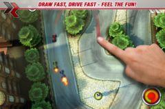 free iPhone app DrawRace 2