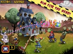 free iPhone app Zombie Scramble