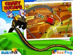 free iPhone app Crazy Escape