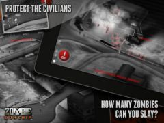 free iPhone app Zombie Gunship
