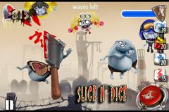 free iPhone app Zombie Toss