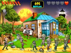 free iPhone app Zombie Area!