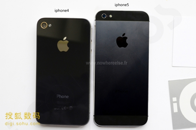 l 39 iphone 5 compar un iphone 3gs et iphone 4 en photos. Black Bedroom Furniture Sets. Home Design Ideas