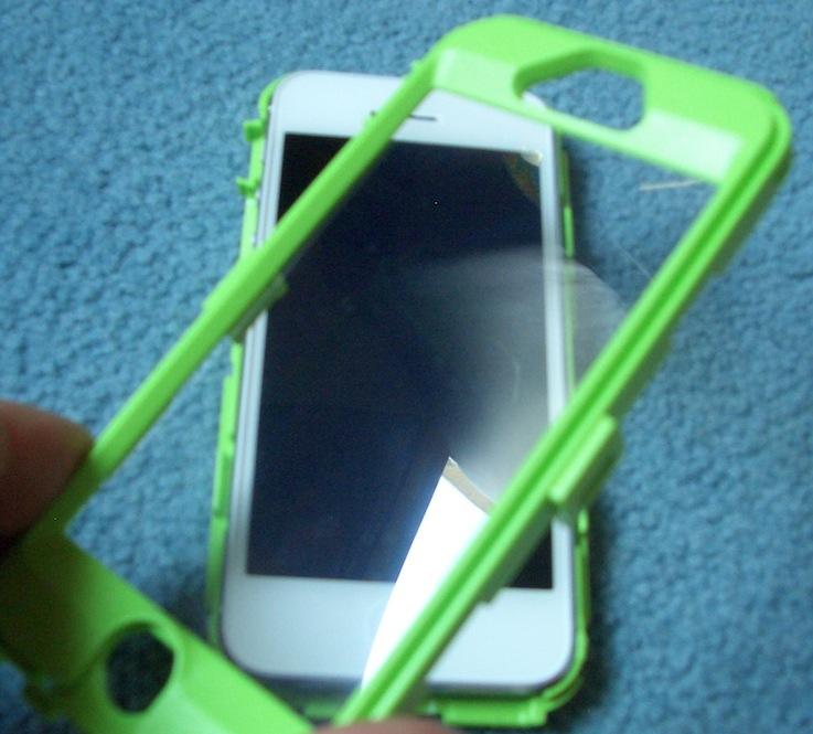 coque iphone 5 ecran