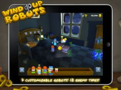 free iPhone app Wind Up Robots