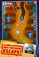free iPhone app Super Mole Escape