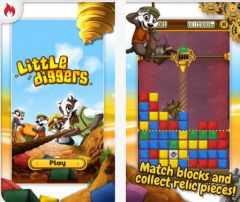 free iPhone app Little Diggers