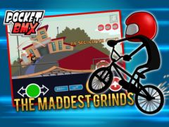 free iPhone app Pocket BMX