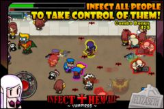 free iPhone app Infect Them All : Vampires