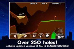 free iPhone app Super Stickman Golf