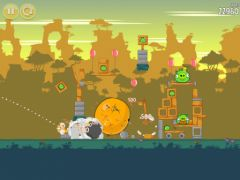 free iPhone app Angry Birds