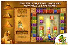 free iPhone app Brickshooter Egypt Premium