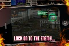 free iPhone app Hired Gun 3D