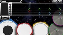 free iPhone app Drum Fanatics