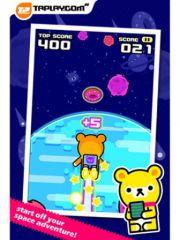 free iPhone app Space Rush - Tappi Bear