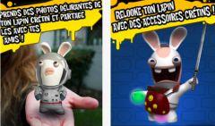 free iPhone app Les lapins crétins