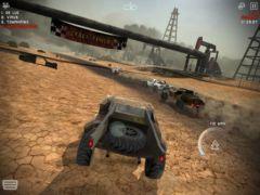 free iPhone app Uber Racer 3D - Sandstorm