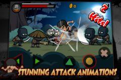 free iPhone app KungFu Warrior