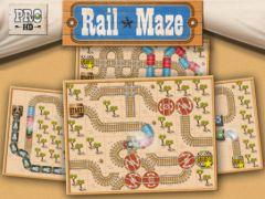 free iPhone app Rail Maze Pro HD