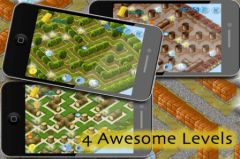 free iPhone app H2Whoooa! Water Maze Game