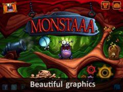free iPhone app Monstaaa