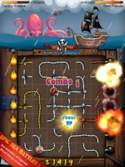 free iPhone app Pirate Gunner HD