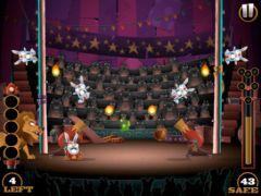 free iPhone app Stunt Bunnies Circus