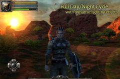 free iPhone app Aralon: Sword and Shadow HD