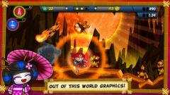 free iPhone app Chop Chop Ninja World