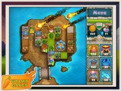 free iPhone app Treasure Defense HD